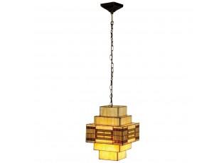 Závěsné svítidlo Tiffany Art deco - 30*30*144 cm
