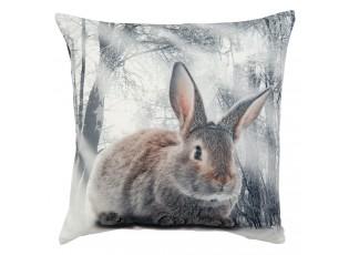 Polštář s výplní REAL ANIMALS králík -  40*40cm