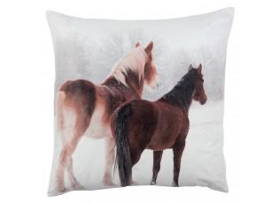 Polštář s výplní REAL ANIMALS koně -  40*40cm