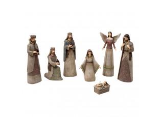 Betlém - 7 figurek
