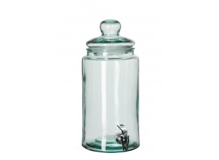 Kulatá nádoba na nápoje s kohoutkem 6l