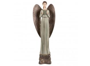 Anděl se srdcem  - 14*8*39 cm
