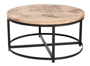 Dřevěný konferenční stolek - 90*90*45cm