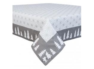 Ubrus na stůl Let´s Stay Home - 150*150 cm