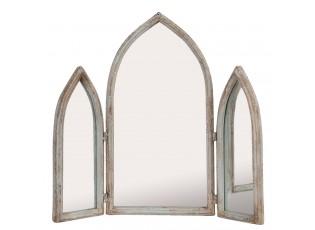 Zrcadlo ve tvaru okna - 58*10*55 cm