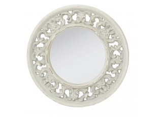 Kulaté zrcadlo s ornamenty - Ø 50*4 cm