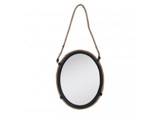 Závěsné zrcadlo ovál - 35*6*43 cm