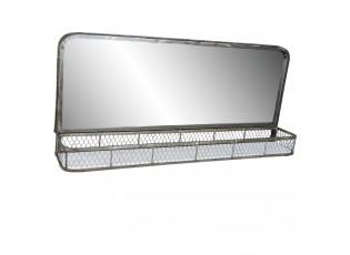 Zrcadlo s poličkou - 91*16*42 cm
