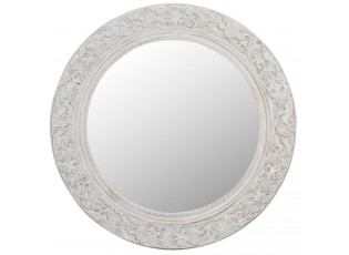 Kulaté zrcadlo s ornamenty - Ø 121*6 cm