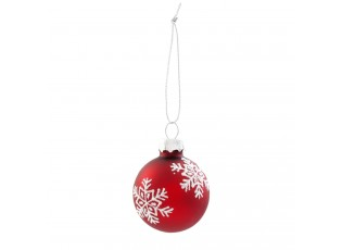 Vánoční ozdoba - Ø 4 cm - sada 6ks