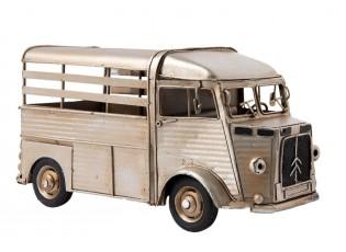 Kovový retro model dodávky - 25*12*13 cm