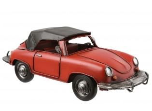 Retro kovový model sportovního vozu - 27*12*10 cm