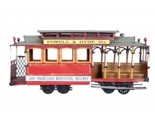 Kovový model vagónu - 32*11*15 cm