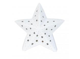 Keramická stolní lampička Hvězda - 28*16*27 cm