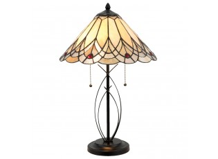 Stolní lampa Tiffany Peaceful - 40*60 cm 2x E27/60W