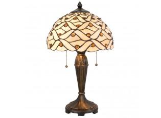 Stolní lampa Tiffany Joana - 30*51 cm 2x E27/40W