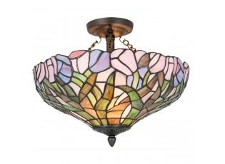 Stropní světlo Tiffany Tulipány - Ø 41*33 cm 2x E27 max 60w