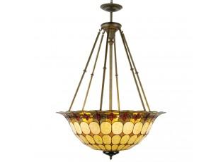 Závěsné svítidlo Tiffany Oxford - Ø 92*128 cm 6x E27 / Max 60W