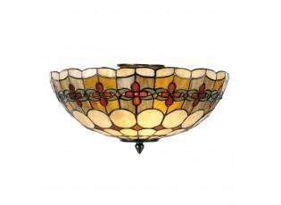 Závěsné svítidlo Tiffany Oxford - Ø 40*24 cm 2x E14 / Max 40W