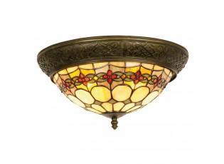 Závěsné svítidlo Tiffany Oxford - Ø 38*19 cm 2x E14 / max 40w