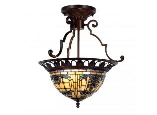 Stropní svítidlo Tiffany Alloment - Ø 37*41 cm 2x E27 / Max 60W