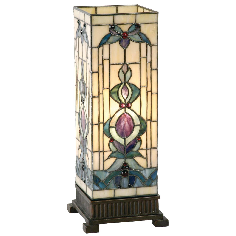 Stolní lampa Tiffany Alloment - 18*45 cm 1x E27 / Max 40W