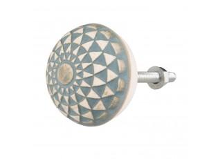 Keramická úchytka Lora  - Ø 4*3 cm
