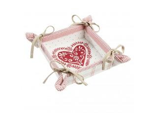 Obustranný košíček na pečivo  Beauties of Winter - 35*35 cm