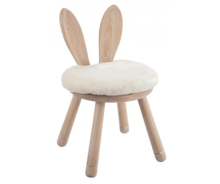 Židle EAR RABBIT - 34*34*55 cm