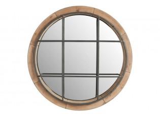 Nástěnné zrcadlo ROUND - 63*10*63 cm