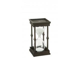 Přesýpací hodiny BROWN - 8*8*16 cm
