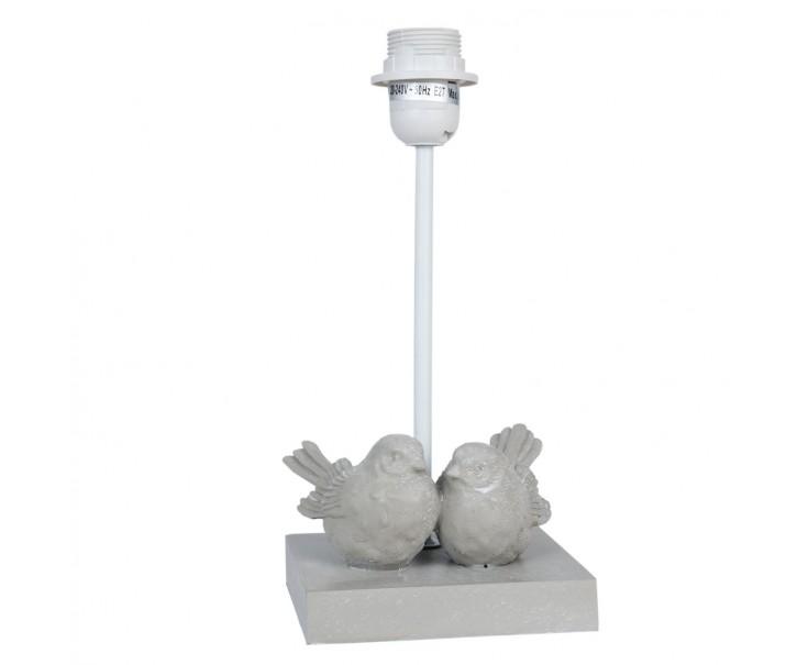 Noha k lampě s ptáčky - 14*13*30 cm E27 / Max 40W