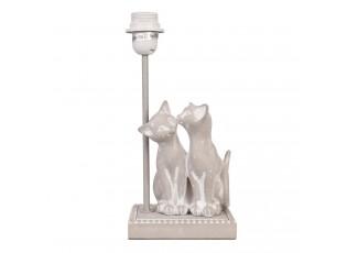 Noha k lampě kočičky - 15*12*33 cm E27 / Max 60w