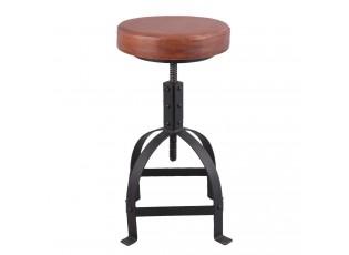 Kovová vytáčecí stolička - Ø 35*60 cm