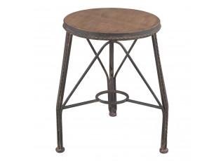 Kovová stolička - Ø 37*44 cm