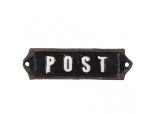 Kovová cedulka Post - 12*1*3 cm