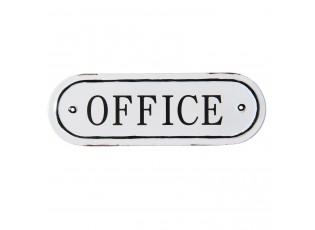 Kovová cedulka Office - 27*9 cm