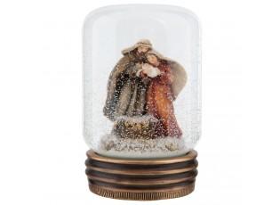 Sněžítko Svatá rodina .  Ø 7*10 cm