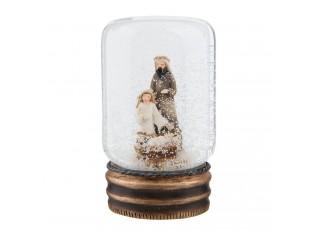 Sněžítko Svatá rodina - Ø 5*9 cm