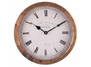 Nástěnné hodiny L´hotel du Palais - 31*5*31 cm / 1xAA