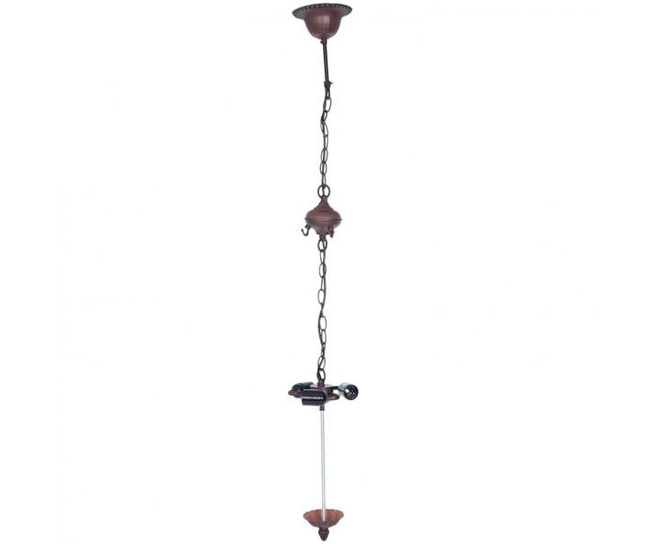 Závěsné svítidlo Tiffany bez stínidla - 16*16*95 cm / E27/60W