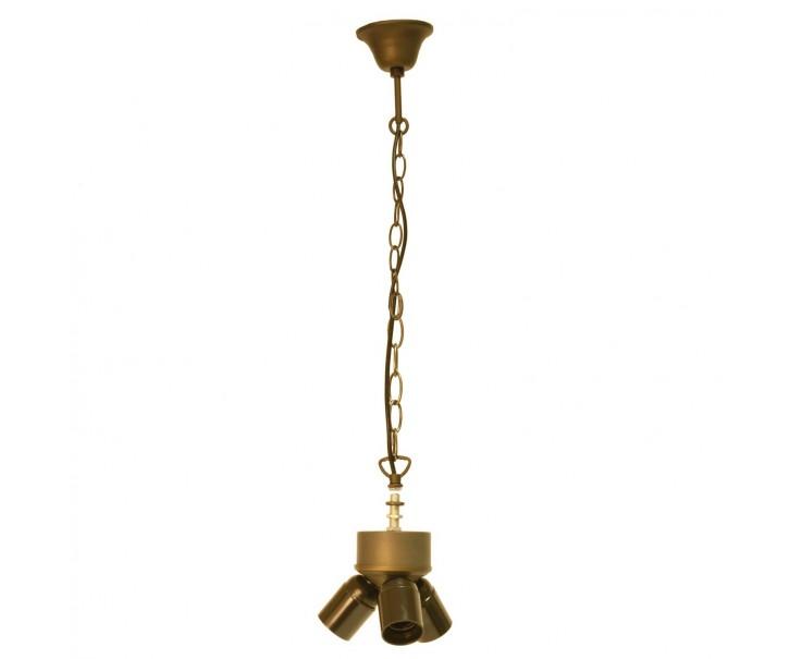 Závěsné svítidlo Tiffany bez stínidla - 130 cm 3x E27 / Max 60W