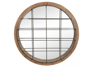 Nástěnné zrcadlo ROUND - 122*13*122 cm