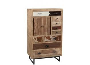 Dřevěná skříňka - 80*42*135 cm