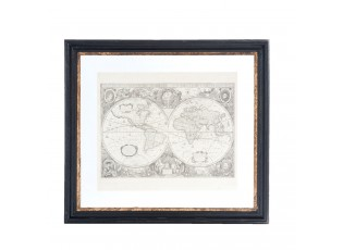 Obraz zeměkoule  - 55*4*50 cm