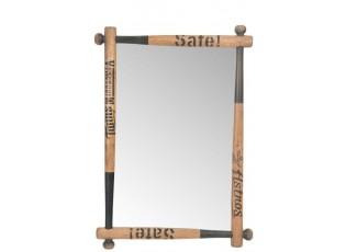 Nástěnné zrcadlo BASEBALL - 64*6*90 cm