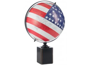 Glóbus na podstavci FLAG USA - 30*30*48 cm
