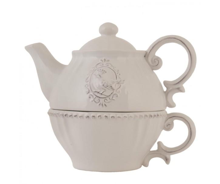 Tea for one Queen of birds - 18*12*16 cm