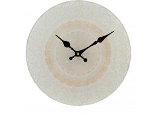 Hodiny ornament - Ø 30*4 cm / 1xAA