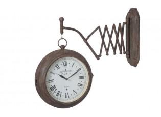 Nástěnné hodiny  STRETCHABLE -  61 * 11 * 46 cm